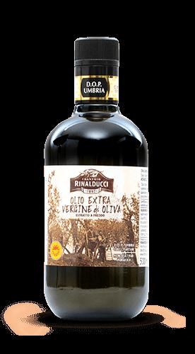 Olio extra vergine di oliva DOP Umbria Colli Martani Monocultivar Moraiolo