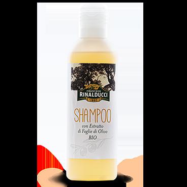 Shampoo con estratto di foglie di olivo Bio